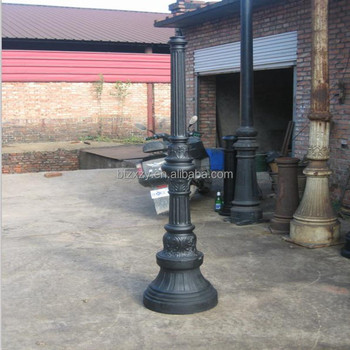 Cast Iron Street Lighting Outdoor Garden Yard Lamp Post
