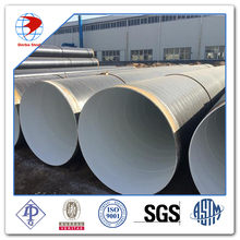 API 5L X70 PSL2 SSAW 3PE coating spiral welded steel pipe
