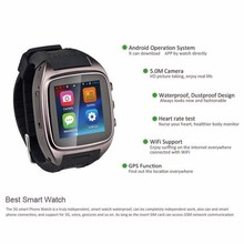 Android Smart Watch SM27 1.5 inch 240 * 240 IPS Bluetooth smartWatch with GPS+3G+WiFi+GPRS Bluetooth Watch for android phone