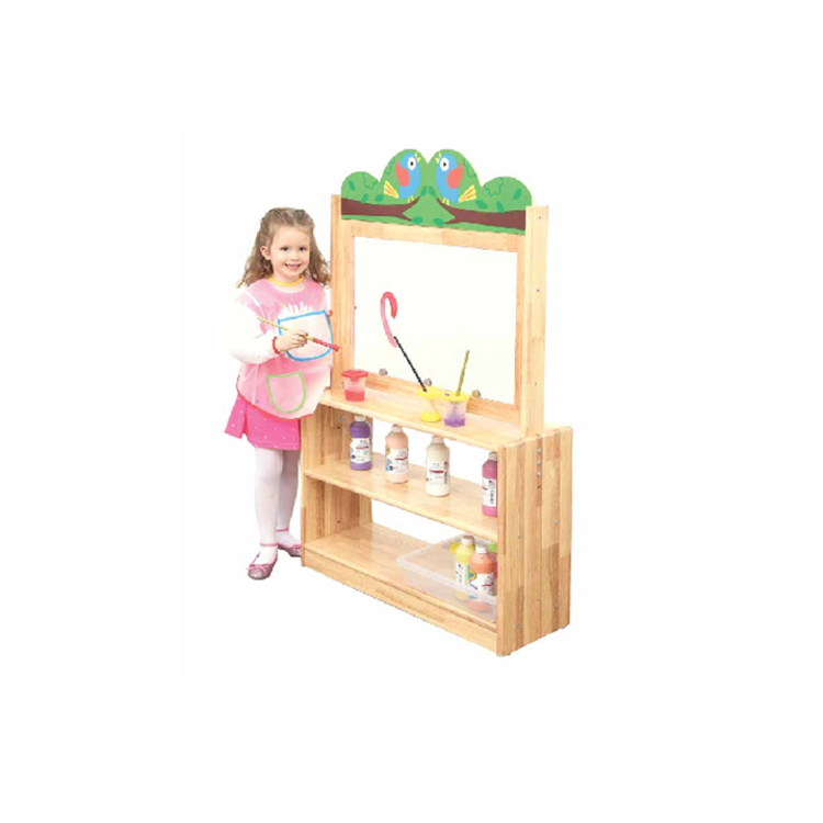 New Promotion kids classroom rosewood furniture toy storage bin rack With Best Price