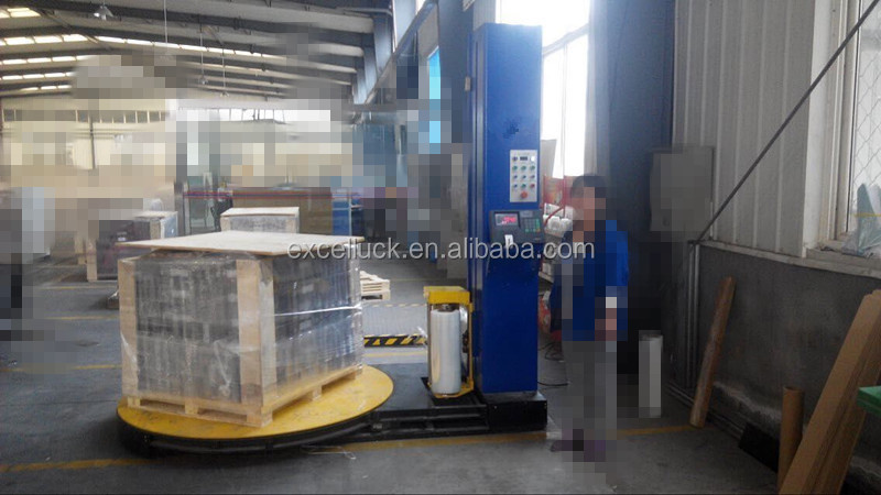 pre-stretch pallet wrapper machine hot sale