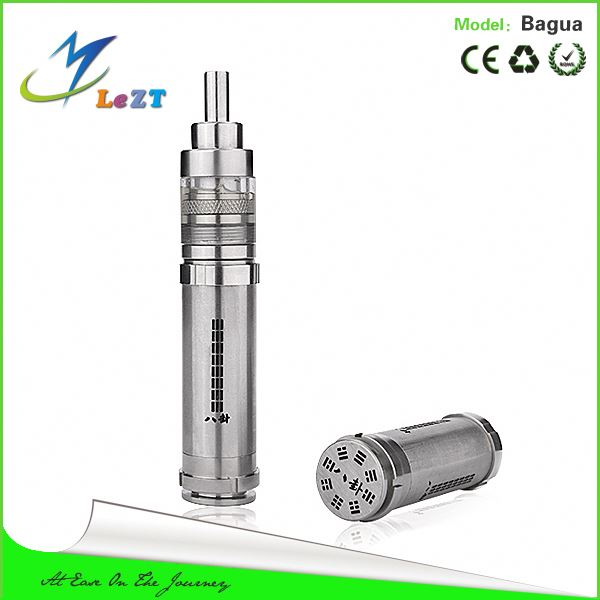 Hottest item!!! genesis atomizer steam turbine atomizer made of SS and titanium For zmax v5 & bagua mod