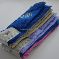 100%cotton solid dyed terry kitchen towel set