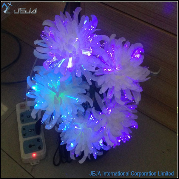 JEJAHK fiber optic flower table design