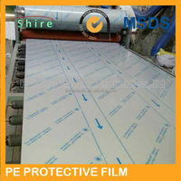 paint pe protective film for aluminum panel/paint protection film for steel panel/paint protective film for metal surface