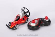 2015 new electric red UFO remote control race cars for kids