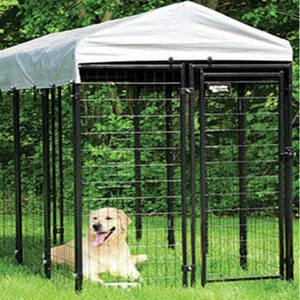 China Supplier welded wire mesh large dog cage manufacturer