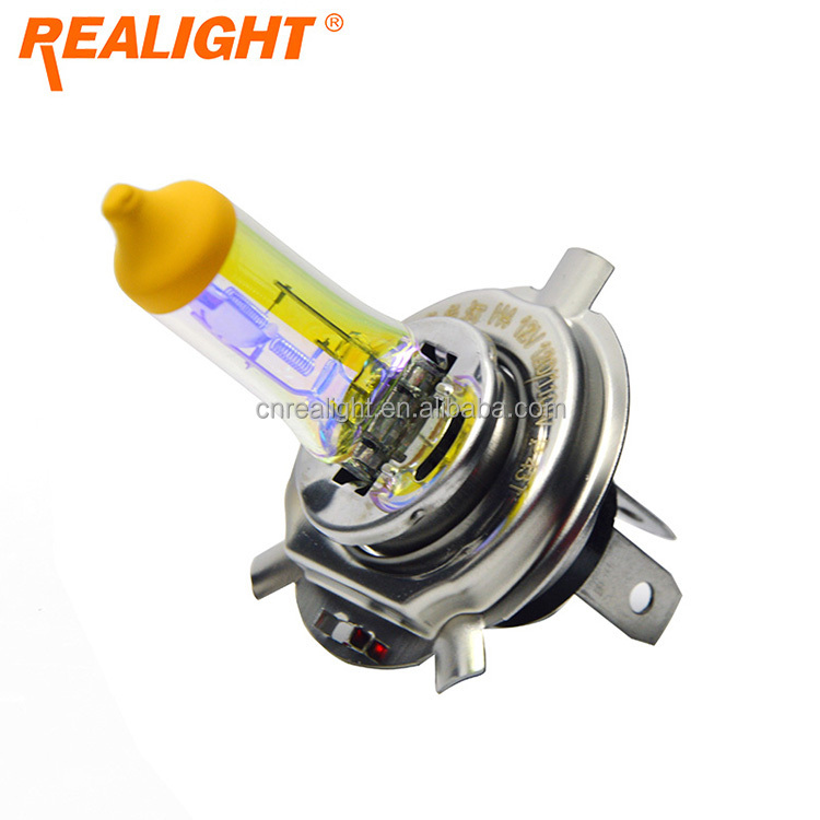Halogen P43T Crystal Yellow 12V 100/90W 120/110W H4 Auto Car