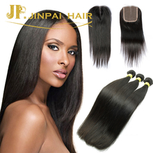 JP Hair Factory Outlet 100% Virgin Indian Straight Hair Extension