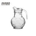1.8L Engraved design big drinking glass jug for water