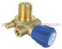 CNG cylinder valve Manual Unvented ECE R110