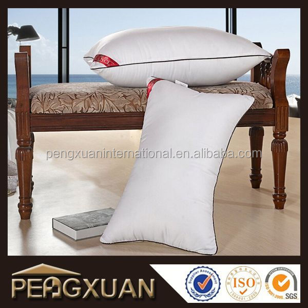 2016 new products sleeping siliconized polyester fiber pillow