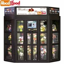 fridge flower vending machine with Refrigerator