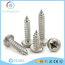 Din 7981 Stainless Steel/Galvanized/Titanium Pan Head Self Tapping Thumb Screw,Pan Head Screw