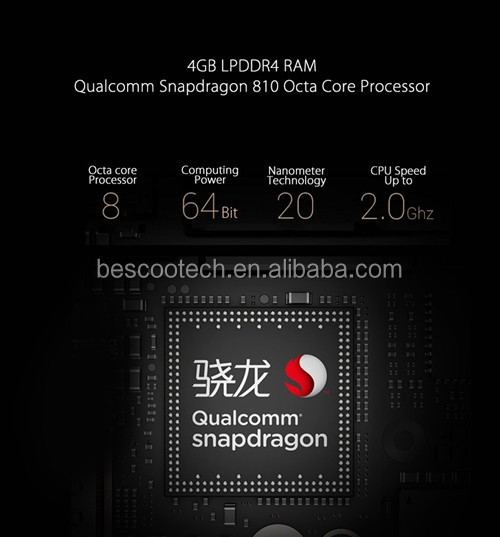 "Original Letv Le Max X900 4G Cell Phone Snapdragon810 64Bit Octa Core 6.33"" 2560x1440 4GB RAM 64GB ROM 21.0MP"