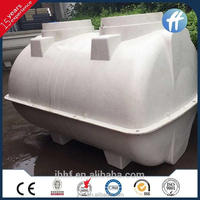 frp septic pressure plastic water tank with light strong durable features