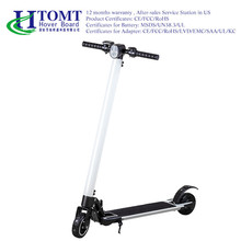 2017 china wholesale 250W hub motor electric scooter two wheels adult self balancing kick scooters