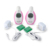 lcd display digital baby phone audio wireless baby monitor music