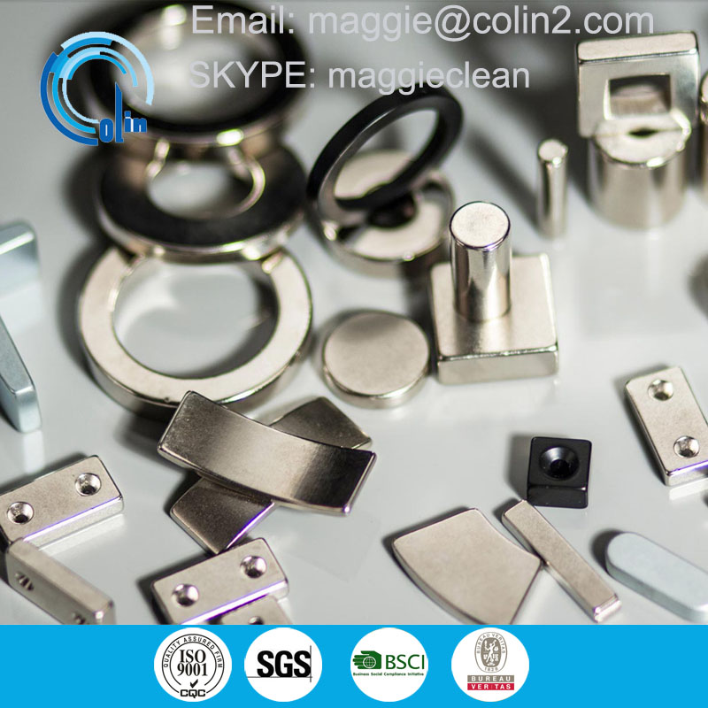 Hard Neodymium Magnets N52 Ring Motor Permanent Magnets