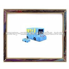 UW-PB-255 2012 fashion blue bus shaped fleeces dog bed
