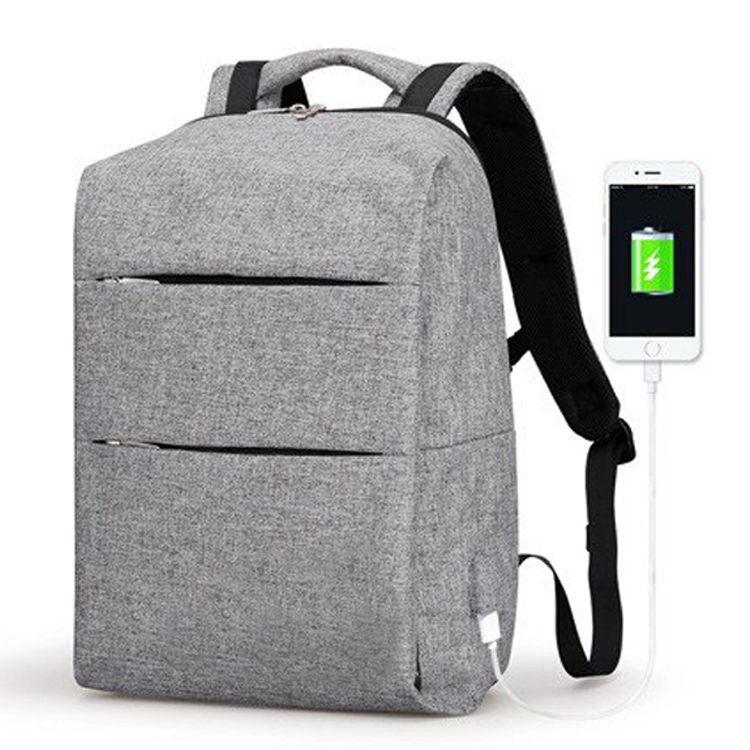 2017 Ultralight Anti theft Laptop Leisure Backpack Bag with USB charge port and waterproof for Men Mochila