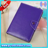 2014 hot sale universal leather tablet case for 8 inches tablet pc