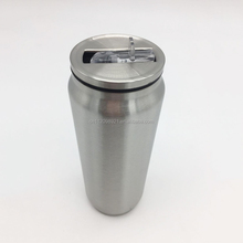 2017 Newest product stainless steel cans of coke cans mug starbucks straw cup stainless steel cola cans