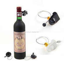 eas anti-theft wine bottle hang tags lanyard cable security EAS bottle hard security tag with security lock