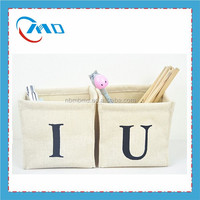 Wholesale Custom Printing Mini Jute Storage Box