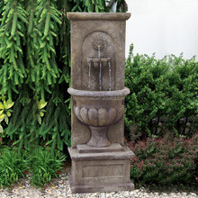 Hot sale decorative indoor or outdoor stone modern water wall fountain
