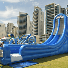 Inflatable Tube Water Slide giant outdoor slide for sale