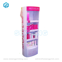 Custom 4 Color Printing Cardboard Balloon Display Stand