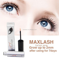 MAXLASH Natural Eyelash Growth Serum (eyebrow tweezer scissor)