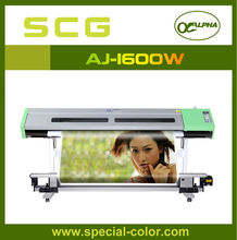 inkjet Large Format Printer of Alpha price of plotter machine