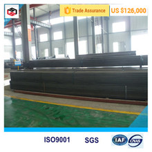 cheap construction materials black steel pipe rectangular steel pipe for tower crane