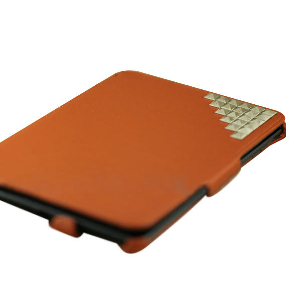 PU leather case cover shell case for ipad mini with studs