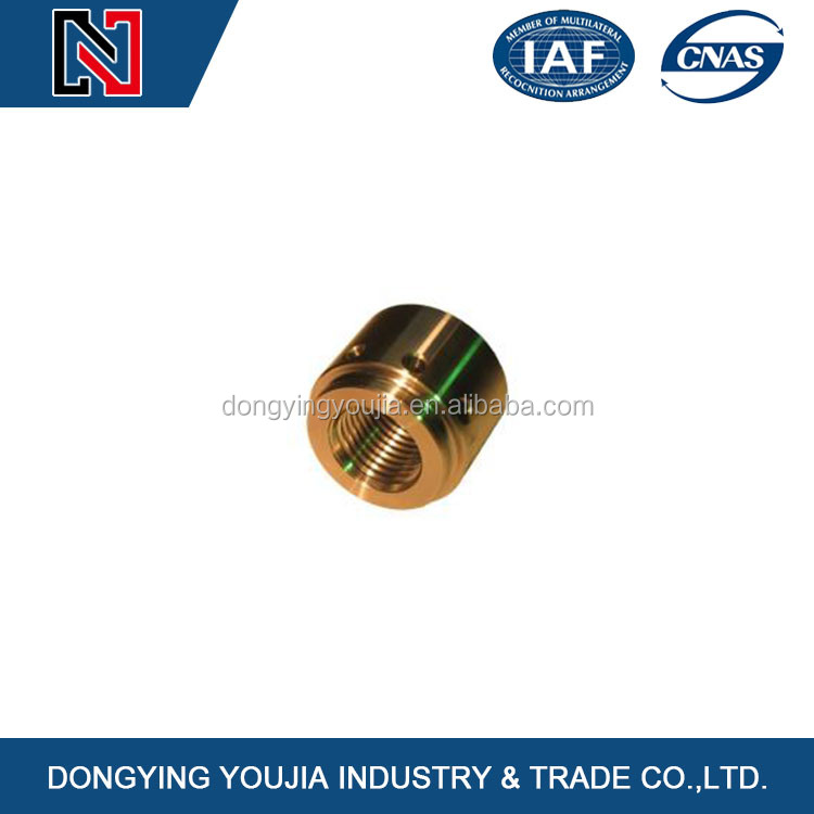 Good quality CNC machining products brass / copper / bronze sinter bearing part for auto body part