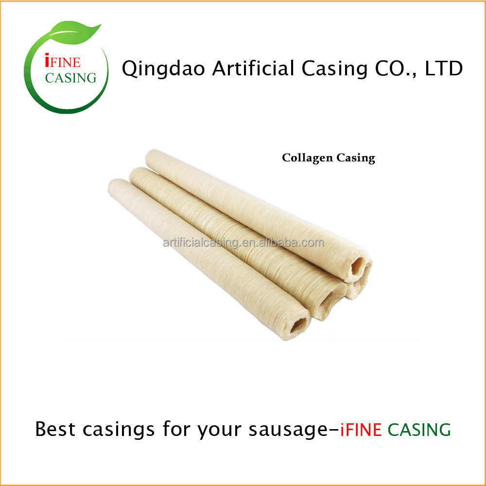 Grade A internation standard calibers 18/20 collagen sausage casing