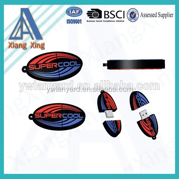 China supplier OEM silicone usb flash drive wholesale for promotion