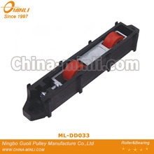 adjustable plastic sliding door window roller