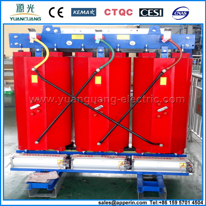 11KV 315KVA SCB10 Three Phase Dry Type Distribution Transformer