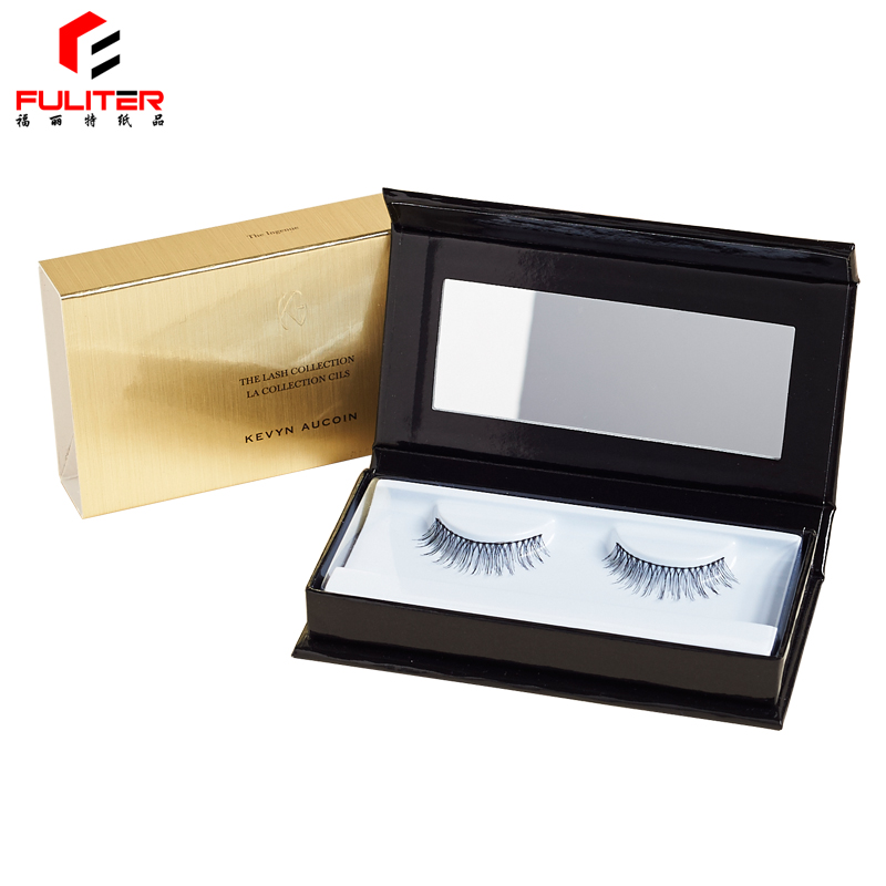 OEM custom printed custom eyelash packaging box