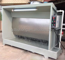 Customized furniture,plastic water curtain paint spray booth