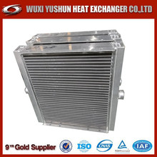 Direct factory of custom made aluminum plate oil radiator for engine/oil cooler/hydraulic oil cooler radiator
