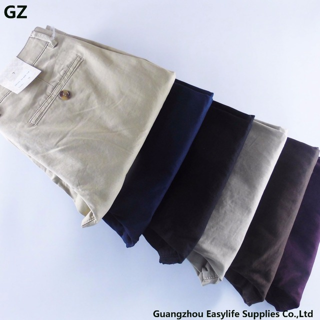 Factory supply new design fashion chino men's trousers pants