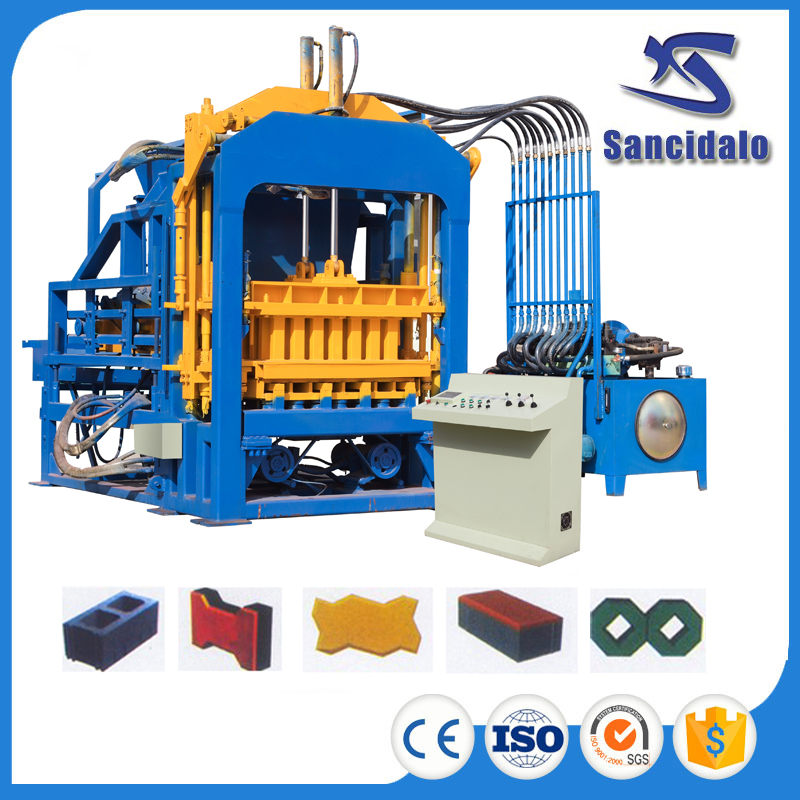 QT8-15 concrete block making machine design pdf with best quality and low price