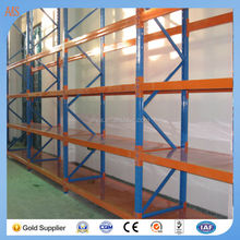 Warehouse goods long span stacking racks & shelves system