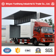 4X2 10T Lorry Truck/Cargo Box Van Delivery Truck Prices Photo