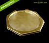 Golden Recyclable Plastic Cake Food Packaging Tray