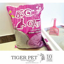 clumping ball shape bentonite cat toilet litter